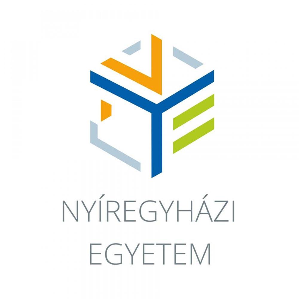A duális képzésben partnerünk, nyíregyházi egyetem logója